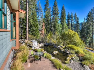 Photo for Flawless Donner Home w/Hot Tub + Lake Views
