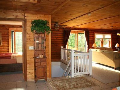 Photo for Log Home Rental Overlooking Lime Lake Near Ellicottville, NY