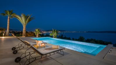 Photo for Luxury villa Elyzeum, paradise with striking views