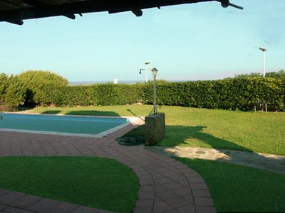 Photo for Villa La Rocca - Country Paradise with garden and private pool overlooking the sea