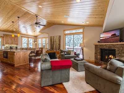 Photo for Upscale New 3BR Sugar Pine Point Home - 5 Minutes to Homewood Ski Resort
