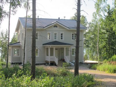 Photo for Holiday home in southern Finland directly on the water