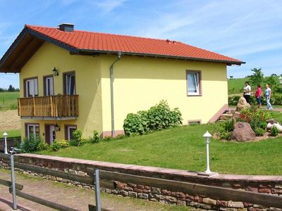 Photo for Restful Apartment in Gransdorf with Garden