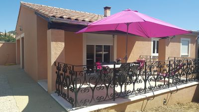 Photo for House, handicapped standard,  , individual with wifi at Pas du ventoux