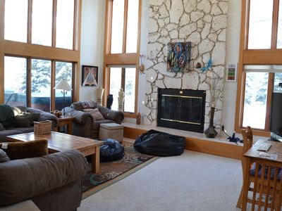 Photo for Spectacular Mountain Views in Three Bedroom House