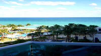 Photo for Special Rate Private Beach Front Condo 2/2 near Miami/Ft. Lauderdale!!