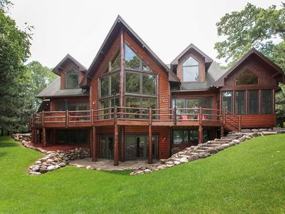Photo for Luxury water home on Whitefish Chain of lakes