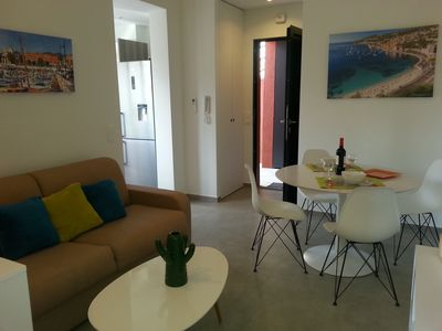 Photo for APARTMENT T2 WITH PARKING - SMALL TERRACE - WIFI ON THE HILLS OF NICE