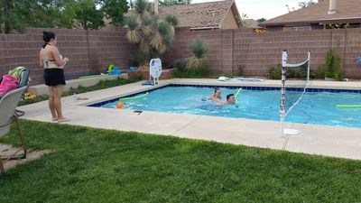 Photo for July discount! NM Private  Pool Staycation! grassy backyard w/BBQ, must be 21