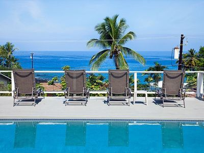 Photo for Luxurious Ocean View Home with Large Pool & Lanai