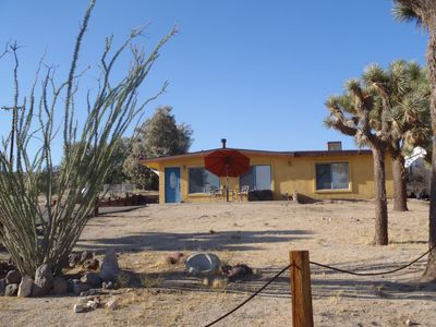 Photo for NEW LISTING!  Joshua Tree and Pioneertown Central home with view!