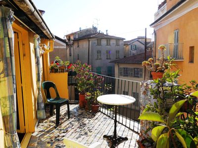 Photo for Old Town, Nice: romantic studio apartment with a large terrace