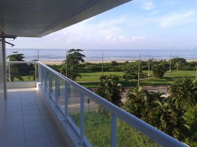 Photo for Sea Front Wonderful view of the Balcony and Rooms, quiet secluded beach