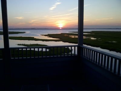 Photo for Beautiful Bay Front 2 BR 2 Bath Condo just 1 block from beach