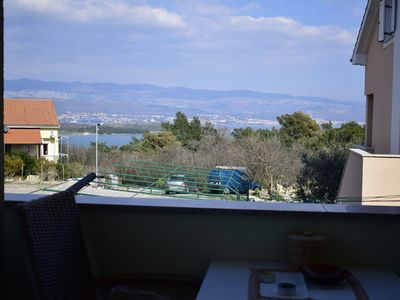 Photo for Beautiful apartment Gloria 2 with sea view and in a quiet area
