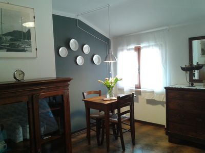Photo for Cà Antonia Romantic attic room with private terrace 2 min from the lake