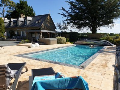 Photo for Holiday rental in authentic Breton country