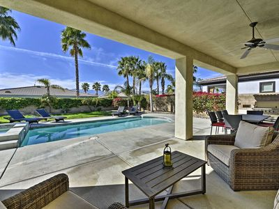 Photo for Spacious Palm Desert Home w/Pool & Jacuzzi by Golf
