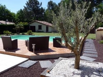 Photo for enlarged and renovated villa in a quiet, on a large lot with pool