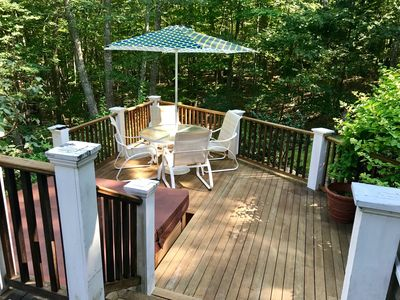 Back deck lower section