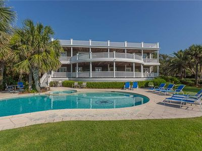 Photo for Luxury Oceanfront Home with Pool, Guest House, Tiki Bar and Direct Beach Access