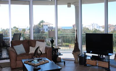 Photo for Spacious 2 Br/2 Bath Condo Between Rosemary And Alys With Expansive Gulf View!