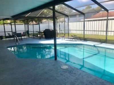 Photo for Charming home with amazing pool area!  Close to Airport, Beaches and Attractions