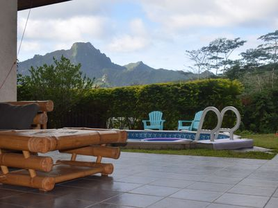 Photo for Manuakai Home, in the heart of Moorea