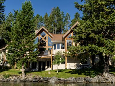Photo for Stunning Waterfront Estate with Sweeping Lake & Mountain View's from Every Room!
