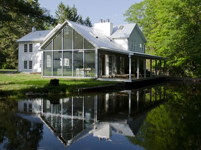 Photo for Floating Farmhouse: Stunning renovation in storybook setting, 2 hours NYC