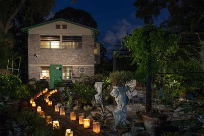 GiGi's Mystical Garden is set within an established garden & historical setting.