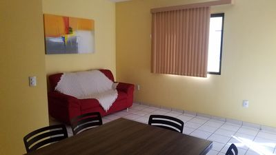 Photo for Excellent 2 bedroom apartment very well located in Praia do Morro