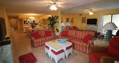 Photo for You won`t be cramped for space in this unit!  Beautiful decor is a plus too! (Sat - Sat during summe
