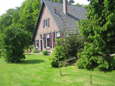 Photo for Beautiful monumental coach house on a lovely country estate near Park de Hoge Veluwe