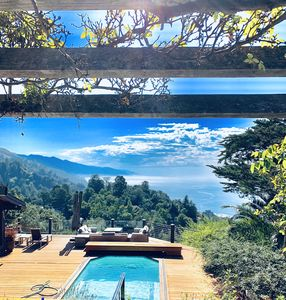 Photo for Beautiful Big Sur with pool/spa, close in location to all Big Sur has to offer