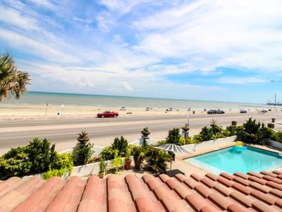 Photo for Colorful, oceanfront condo by the beach w/ a shared pool - dogs OK!