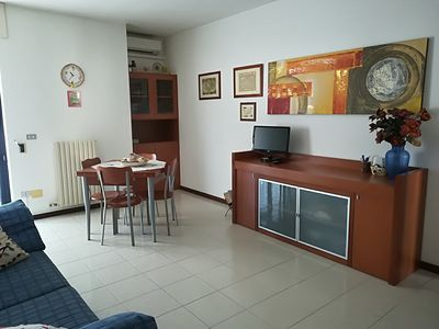 Photo for COMFORTABLE AND DELIGHTFUL THREE-ROOM APARTMENT ONE STEP FROM THE CASTLE OF OTRANTO