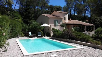 Photo for Villa with pool under the pines north of Montpellier