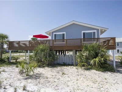 Photo for Gulf view house- Dune Allen Beach- Large Deck w/ grill! Across from beach!