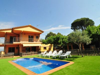 Photo for Club Villamar - Charming holiday villa with private pool, a nice garden with a covered terrace, b...