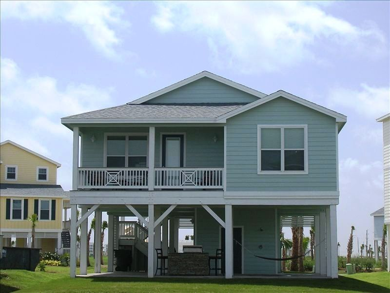 Houses on stilts in texas house plan 2017 for Coastal home builders texas