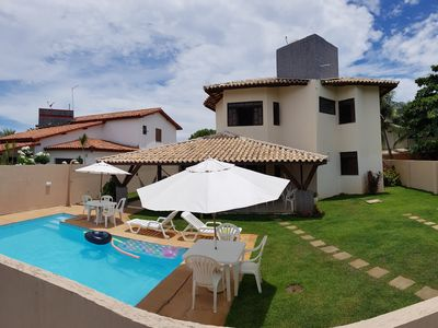Photo for House in Guarajuba with pool and barbecue