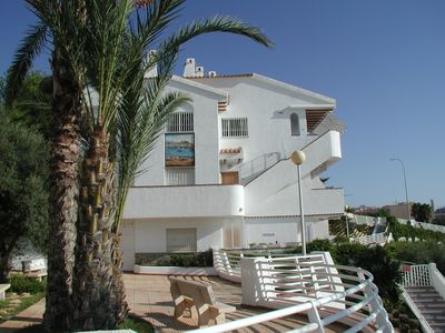 Photo for Apartment for 4 people directly on the sandy beach Campoamor with garage