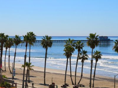 Photo for Family Friendly & Southerly Beach and Pier Views Condo!!!