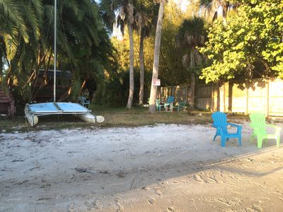 Private beach shared only with guests of other unit