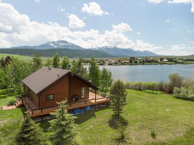 "Photo for 15 mins to Yellowstone, Water activities at Henry Lake ""World Class"" fishing!"