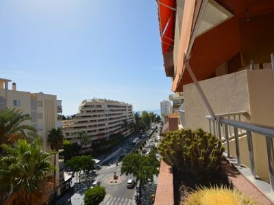 Photo for Marbella center, with sea views and terrace