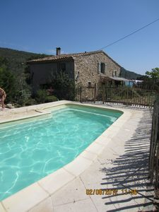 Photo for Character house with private pool for 10 people in Albas