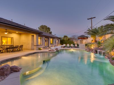 Photo for Family Friendly 4000 Sq Ft 5 Bed 5.5 Bath, With Pool And Spa,  3 Miles To Strip