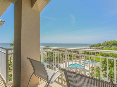 Photo for 6506 Hampton Place | Ocean Views | Free Daily Tennis | Heated Complex Pool | Fitness Center